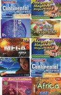 LOT DE 10 CARTE TELEPHONIQUES (LOT LILOU 13b) - Télécartes