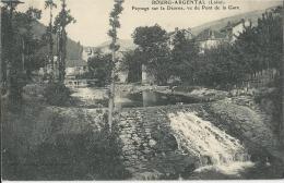 Bourg Argental  -  Paysage Sur La Déorne, Vu Du Pont De La Gare  -  1908 - Bourg Argental
