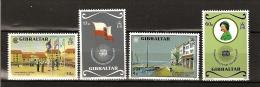 Gibraltar 1983 N° 467 / 70 ** Commonwealth, Scoutisme, Drapeau, Elisabeth II, Reine, Voilier, Parasol, Dunant, Scout - Gibraltar