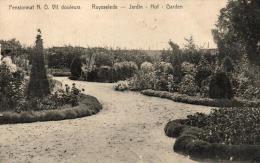 BELGIQUE - FLANDRE OCCIDENTALE - RUYSSELEDE - RUISELEDE - Pensionnat Notre Dame, Jardin - Hof. - Ruiselede