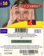 BELGIUM - Woman, Proximus Prepaid Card 50 Euro, Exp.date 31/12/06, Used - Cartes GSM, Recharges & Prépayées