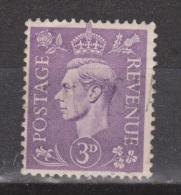 Engeland United Kingdom, Great Britain, Angleterre, Bretagne, King George VI, SG 490, Y&T Used - 1902-1951 (Koningen)