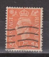 Engeland United Kingdom, Great Britain, Angleterre, Bretagne, King George VI, SG 488, Y&T Used - 1902-1951 (Koningen)
