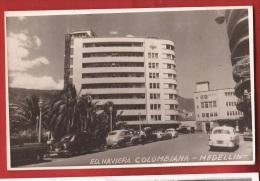 BAFR-11 Medelin Medellin Ed. Naviera Colombiana. Circulé En 1954 Pour Zürich Suiza - Colombie