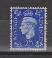 Engeland United Kingdom, Great Britain, Angleterre, Bretagne, King George VI, SG 466, Y&T Used - 1902-1951 (Koningen)
