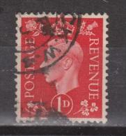 Engeland United Kingdom, Great Britain, Angleterre, Bretagne, King George VI, SG 463, Y&T Used - 1902-1951 (Koningen)