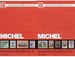 South-America Part 3/1+3/2 A-Z MlCHEL Stamps Catalogue 2014 New 158€: Brazil Chile Ecuador Paraguay Peru Surinam Uruguay - Topics