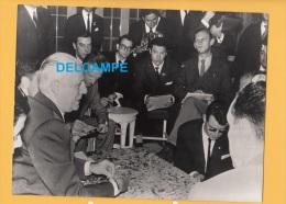 - MADRID - Exil Du Général Salan Refusant La Politique Algérienne De DE GAULLE - 1960 - Keystone - Hotel Phoenix - Oorlog, Militair