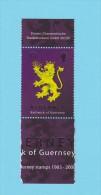 ALDERNEY 25 ANS D´ ALDERNEY LION  2008 / MNH** / CV 104 - Alderney