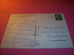 TIMBRE OBLITERATION FLAMME  ° GRANDVILLIERS 60 286    °  BEAUVAIS - Marcophilie (Lettres)