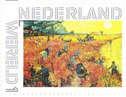 Persoonlijke Postzegel We13A2 Mobiele OKI531 Printer Postex 2013 NIEUW!! Vincent Van Gogh The Red Vineyard - Pays-Bas