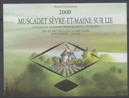 THEME MOULIN étiquette De Vin MUSCADET SEVRE ET MAINE 2 - Windmills
