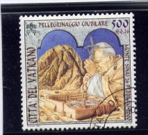 VATICAN, 2000, USED # 1185,  TRAVELS Of JEAN PAUL 11:  MOUNT  SINAI,  USED - Vatican