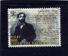 VATICAN, 2000, USED # 1182,  GUISSEPPE VERDI : SCORE From NABUSCO,  USED - Vatican