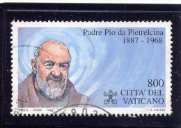 VATICAN, 1999, USED # 1105, PADRE PIO DE PIETRELCINA ,  USED - Vatican
