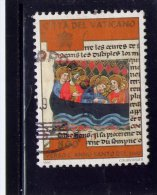 VATICAN, 1997, USED # 1053, ILLUSTRATIONS Of CHRIST MIRACLES CALMING The TEMPEST  ,  USED - Vatican