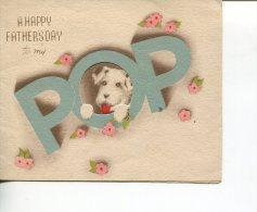 (Folder 42) Very Old Father Day Folding Card - Partecipazioni