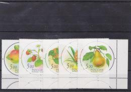 Russia 2003 Mi# 1113-17 MNH** - Fruit
