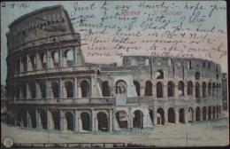 ROMA Il Colosseo - Formato Piccolo Viaggiata Nel 1906 - Coliseo
