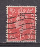 Engeland United Kingdom, Great Britain, Angleterre, Bretagne, King George VI, SG 486, Y&T Used PERFIN DI - 1902-1951 (Koningen)