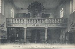 38 - GRENOBLE - Isère - Intérieur De L'Église Saint-Laurent - Tribunes Et Orgues Anciennes - Grenoble