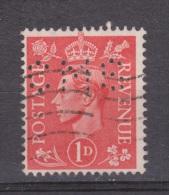Engeland United Kingdom, Great Britain, Angleterre, Bretagne, King George VI, SG 486, Y&T Used PERFIN CMS - 1902-1951 (Koningen)