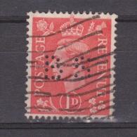 Engeland United Kingdom, Great Britain, Angleterre, Bretagne, King George VI, SG 486, Y&T Used PERFIN BS - 1902-1951 (Koningen)