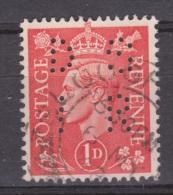 Engeland United Kingdom, Great Britain, Angleterre, Bretagne, King George VI, SG 486, Y&T Used PERFIN DSIR - 1902-1951 (Koningen)