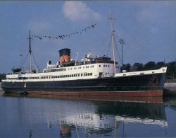 (275) Ship - Ferry Manxman - Traghetti