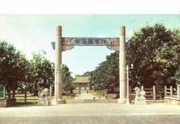 Taiwan. Tainan, Martyrs' Hall. - Taiwan