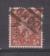 Engeland United Kingdom, Great Britain, Angleterre, Bretagne, King George VI, SG 506, Y&T Used PERFIN HMSO - 1902-1951 (Koningen)