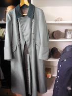ALLEMAND WW2 -  CAPOTE OFFICIER - NOMINATIVE ET DATEE 1940 - Uniforms