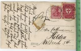 1922/1923 Seltene Mischfrankatur Auf Karte, MiNr.197 B + 199 D Karte Gelaufen, WILHELMSBURG 11.8.22  Kartengröße: 13,5 X - Deutschland