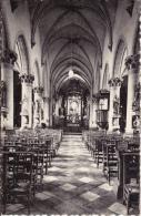 Wortegem.  -  Binenzicht Kerk In Gothieke Styl;  1937 Prachtige FOTOKAART Naar Heist Aan Zee - Wortegem-Petegem