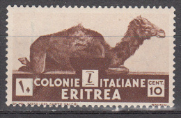 Eritrea  Scott No. 160 Unused Hinged   Year  1934 - Eritrea
