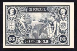 E-AMER-72 POST BLANK BRAZIL 1808-1908 - Brazil