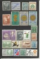 AMERICA  - LOT OF 21 DIFFERENT - MNH MINT NEUF NUEVO - Vrac (max 999 Timbres)