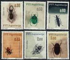 Yugoslavia 1966 Insects Complete Set MiNr 1158-1163 ** / MNH - Non Classificati