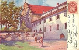 KLASZTOR O. O. CYSTERSOW W MOGILE VOYAGEE EN 1903 VOIR VERSO - Polen
