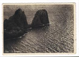 234/600 - CAPRI , I FARAGLIONI . Viaggiata Nel 1950 - Napoli