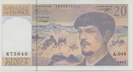 FRANCE P. 151g 20 F 1993 UNC (A.044) - 1962-1997 ''Francs''