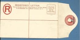 GIBRALTAR 1880's 20 CENTIMOS REGISTERED LETTER THOMAS - Gibilterra