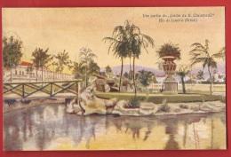 BBRA-05  Litho Jardin De San Christovao, Rio De Janeiro  Non Circulé. ATAR. - Rio De Janeiro