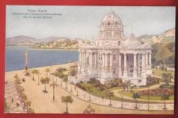 BBRA-12  Litho  Palais Monröe, Chambre De Commerce Internationale, Rio De Janeiro  Non Circulé. ATAR. - Rio De Janeiro