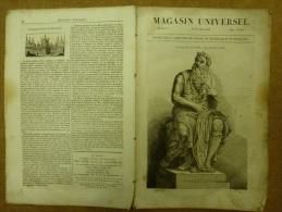14 Novembre 1833 LE MAGASIN UNIVERSEL; Le Dragon ; Les Grenadiers ; Brighthelmstone (Great-Britain) - Kranten