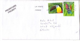 GOOD FRANCE Postal Cover To ESTONIA 2013 - Good Stamped: Birds - France