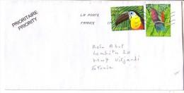 GOOD FRANCE Postal Cover To ESTONIA 2013 - Good Stamped: Birds - Frankrijk