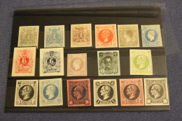 NO RESERVE ! BELGIE NICE SELECTION PROOFS PROEVEN WITH BETTERS SEE SCAN