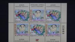 Bosnien-Herzegowina Serbisch 366/7 DD H-Blatt 9 **/mnh, EUROPA/CEPT 2006, Integration - Bosnia And Herzegovina