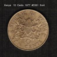 KENYA    10  CENTS   1977  (KM # 11) - Kenya